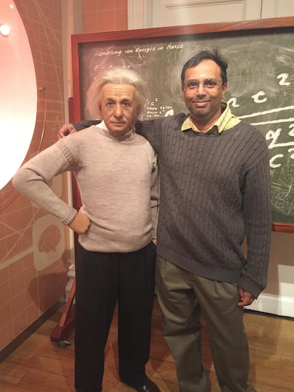 With Einstein